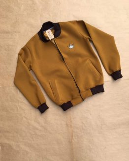 DRIK BUMPER JACKET BROWN