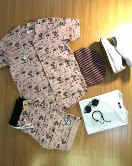 Drik Button Shirt Set
